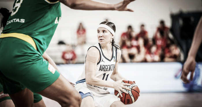 Melissa Gretter. Foto: FIBA