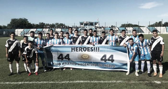 )Argentino Merlo. Lider de la Pimera D. (Foto: Facebook Oficial del club).