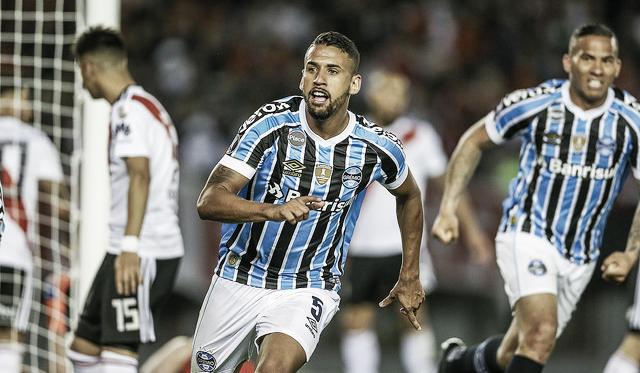 Grêmio vence River Plate na Argentina e traz boa vantagem para Porto Alegre