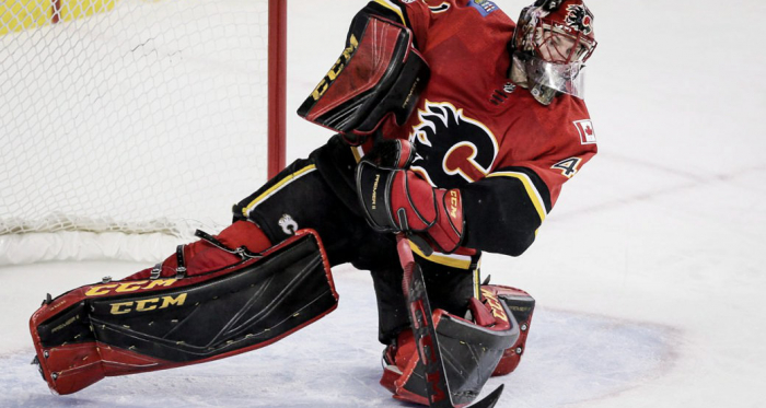 """<div>MIke Smith's erratic play has lost him his starting job to backup David Rittich for now. 