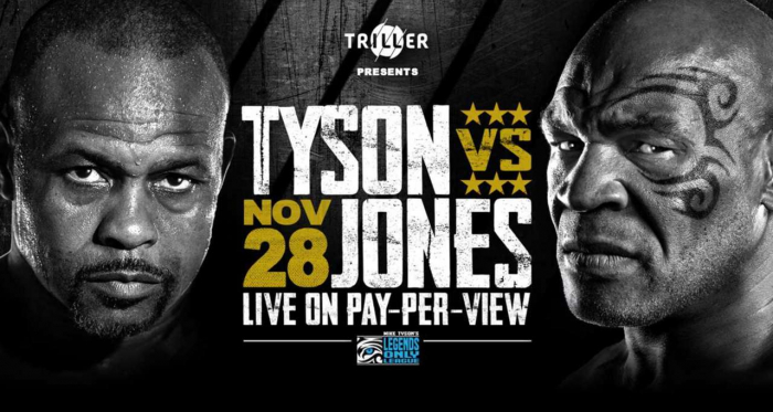 Mike Tyson vs. Roy Jones Jr: Two legends head-to-head this weekend