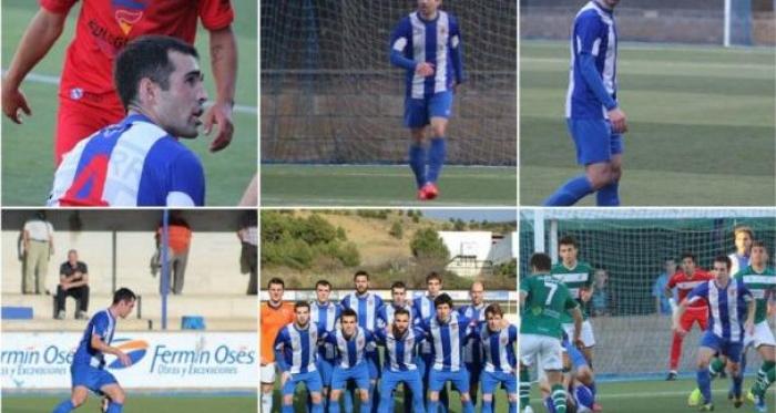Mikel Ziganda se despide del Izarra después de ocho temporadas como blanquiazul. | Foto: CD Izarra.