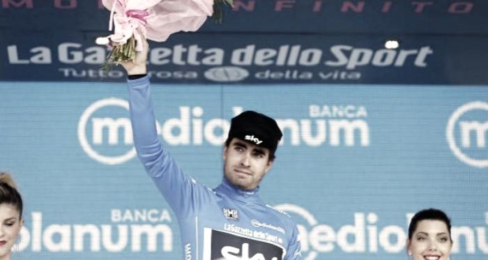Mikel Landa irá subir ao pódio em Milão com a camisola de Rei da Montanha // Fonte: Cyclist.co.uk