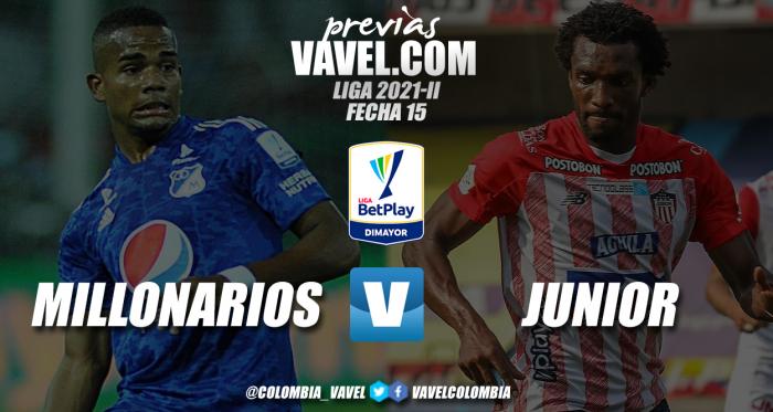 Previa Millonarios vs Junior: un nuevo duelo de una gran rivalidad