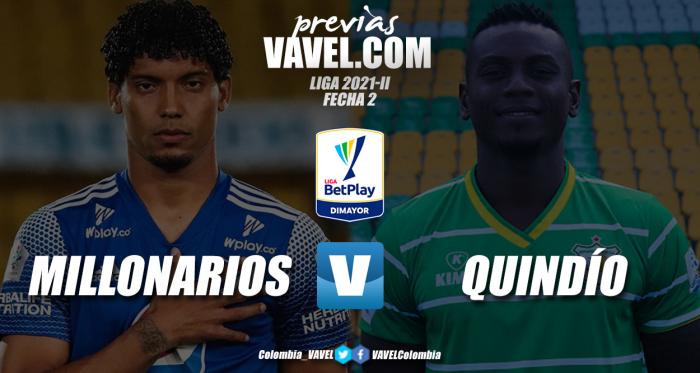 Previa Millonarios vs Deportes Quindío: un reencuentro tras siete años