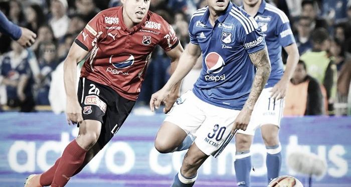 Resultado Millonarios 1-2 Medellín en Liga Águila 2017