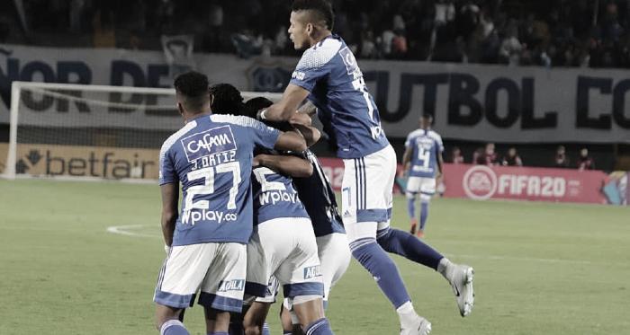 Puntuaciones de la victoria de Millonarios contra Boyacá Chicó