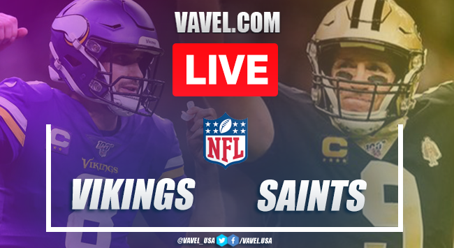 Highlights and Touchdowns: Minnesota Vikings 33-52 New Orleans Saints in NFL 2020 Season