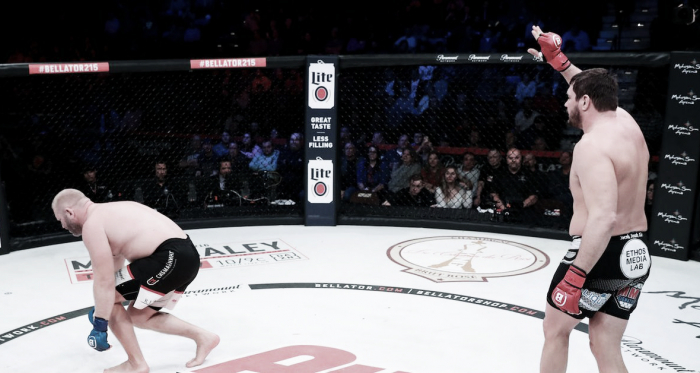 Un final inesperado para Bellator 215 (Foto: Bellator MMA)