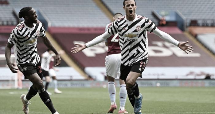 Manchester United vira sobre Aston Villa e mantém sonho de título na Premier League