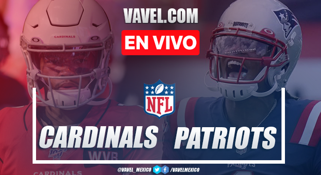 Resumen y anotaciones del Arizona Cardinals 17-20 New England Patriots en Semana 12 NFL 2020