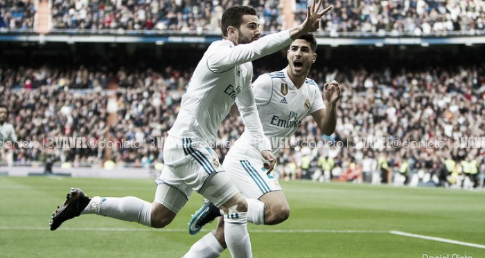 Nacho Fernández con el Real Madrid. Fuente: Daniel Nieto