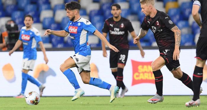 Serie A - Napoli e Milan si inseguono e non sorridono: al San Paolo è 2-2