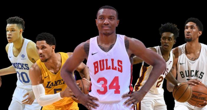 The 2018All-NBA Las Vegas Summer League first team