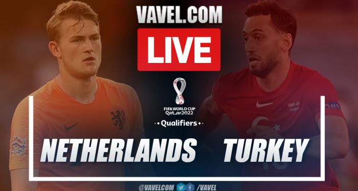 Goals and Highlights: Netherlands 6-1 Turkey in Qatar 2022 Qualifiers