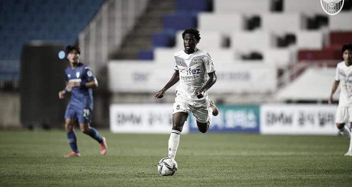Negueba comemora boa fase no Incheon United e projeta reta final da temporada