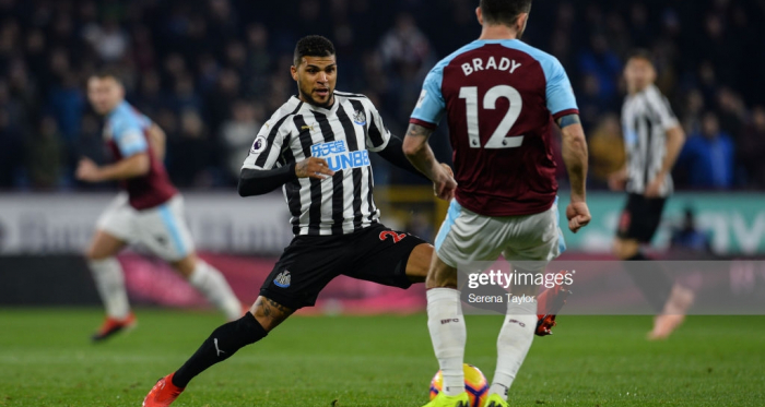 Newcastle United secured a 2-1 at Turf Moor in November (Photo: Getty Images: Serena Taylor)