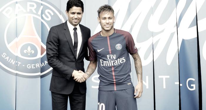 Neymar fortalece a relação do PSG com o Brasil e eleva patamar do clube francês