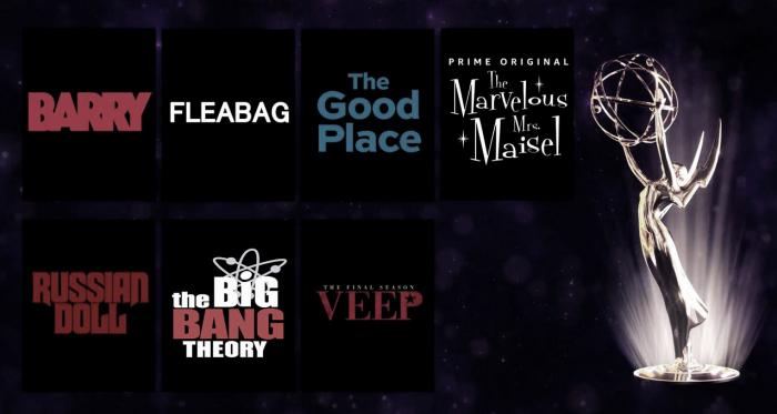 Imagen oficial nominaciones EMMY 2019