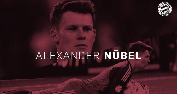 """Alexander Nübel es considerado por muchos como """"El nuevo Neuer"""". FOTO: FC Bayern"""