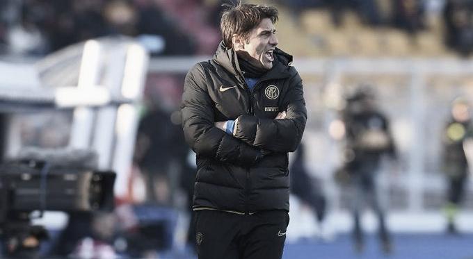 Antonio Conte en Via del Mare / Foto: Sitio web oficial Inter de Milán