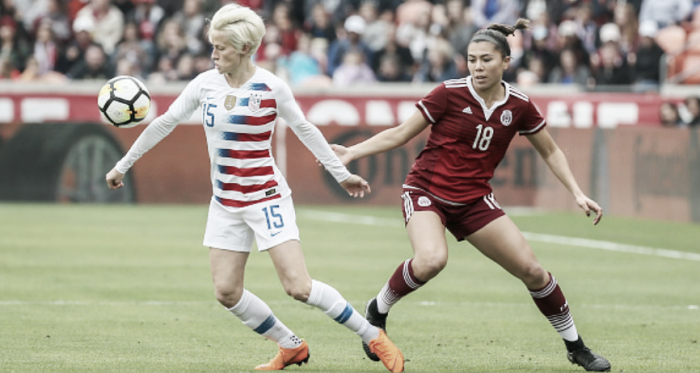 USWNT vs. Mexico will face-off in a Group A match. (Photo by Leslie Plaza Johnson/Icon Sportswire via Getty Images)