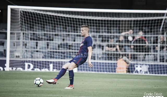Rodrigo Tarín con el FC Barcelona B. Foto: Noelia Déniz, VAVEL