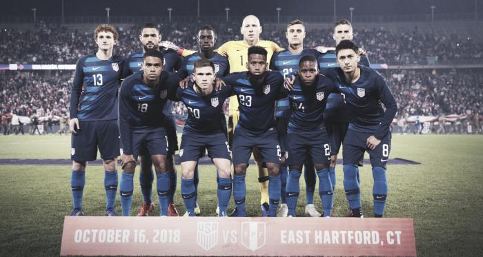 La selección de las barras y las estrellas recuperó la confianza   Fotografía: U.S. Soccer