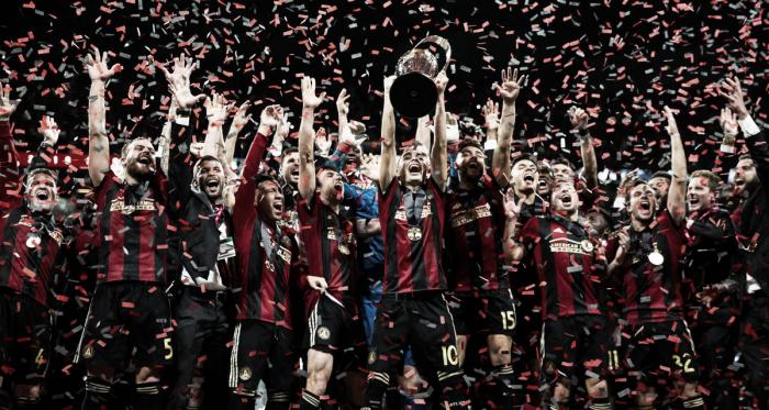 Los rojinegros,campeones de la Copa MLS 2018 | Fotografía: Atlanta United FC