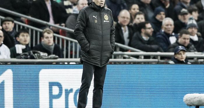 Tottenham abriu vantagem de 3 a 0 no time alemão (Foto: Divulgação / BVB)