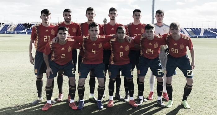 La Roja Sub 19 sumó una victoria y un empate | Fotografía: Sefutbol