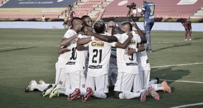 Puntuaciones de los jugadores del Once Caldas tras el empate contra Deportes Tolima