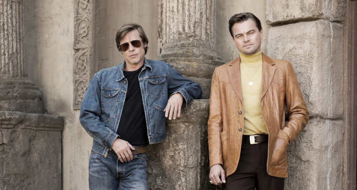 Brad Pitt y Leonardo DiCaprio en Once Upon a Time in Hollywood | Foto: Facebook