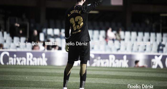 Ortolá en un partido de liga   Foto: Noelia Déniz, VAVEL