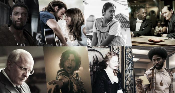 """Afiche con todas las cintas nominadas que compiten en la categoría de mejor película.Fotografía de lomioes.com<p class=""""Maty""""><span lang=""""ES""""><o:p></o:p></span></p>"""