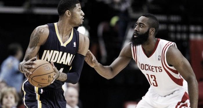 George e Harden frente-a-frente (Foto: ransports.com)