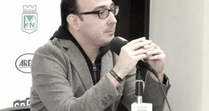 Esteban Escobar Vélez, trabajará junto a Víctor Marulanda en la planeación directiva del club. Foto: Atlético Nacional