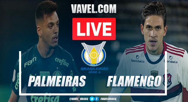 Palmeiras x Flamengo AO VIVO: assistir jogo hoje (0-0)