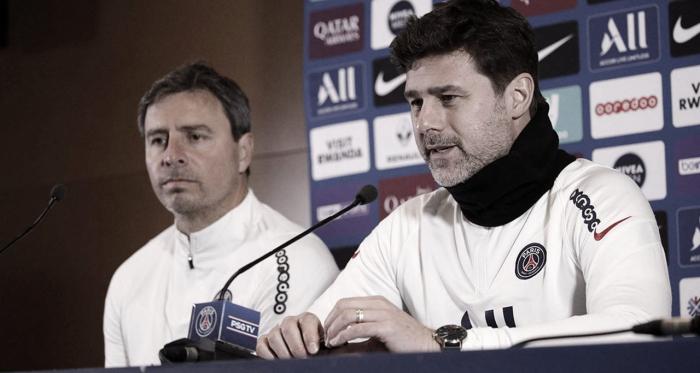 PSG finaliza preparação para duelo contra Angers e Mauricio Pochettino é diagnosticado com coronavírus