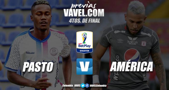 Previa Deportivo Pasto vs América de Cali: la revelación frente al campeón colombiano