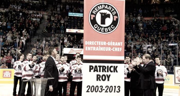 Patrick Roy regresa a Quebec Remparts
