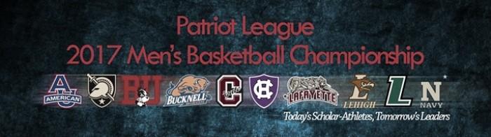 The Patriot League tournament begins Tuesday night/Photo: Patriot League website