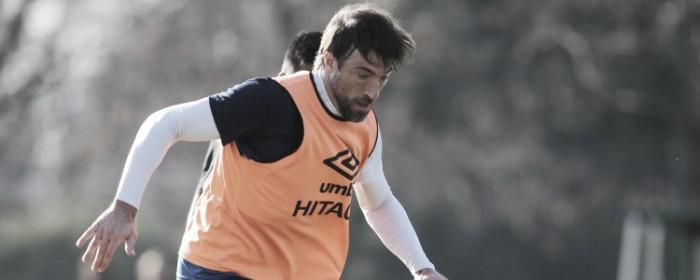 Pavone metió tres en la práctica matutina. Foto: Vélez Sarsfield Página Oficial.
