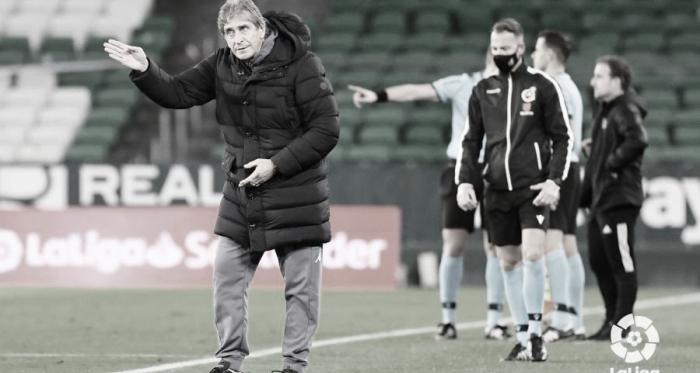 El Plan de Pellegrini en 50 partidos con el Real Betis