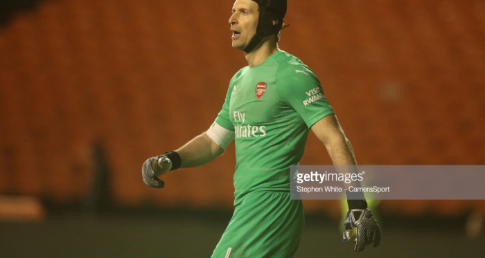 Petr Cech will retire at the end of the season. | Source: Getty - Stephen White