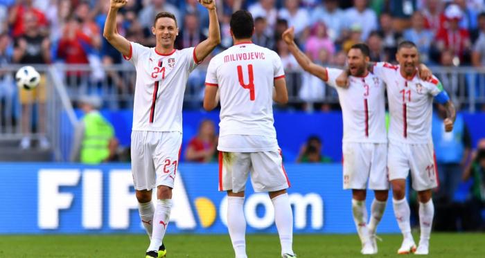 La Serbie conserve ses chances après sa victoire face au Costa Rica.