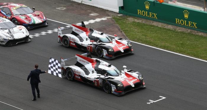 24H du Mans 2018: Toyota inscrit pour la première fois son nom au palmarès.