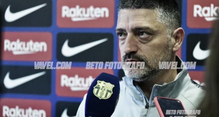 García Pimienta, en rueda de prensa. FOTO: Beto Fotógrafo