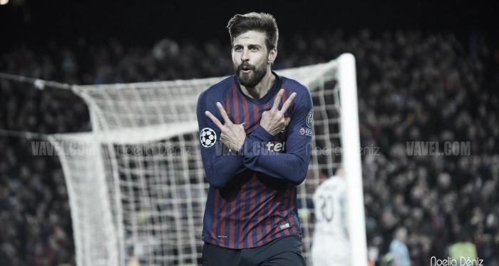 El central azulgrana ha realizado una de sus mejores temporadas en Can Barça / Foto: Noelia Déniz (VAVEL.com)
