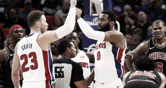El imparable juego interior de los Pistons. Foto: Hoopshype